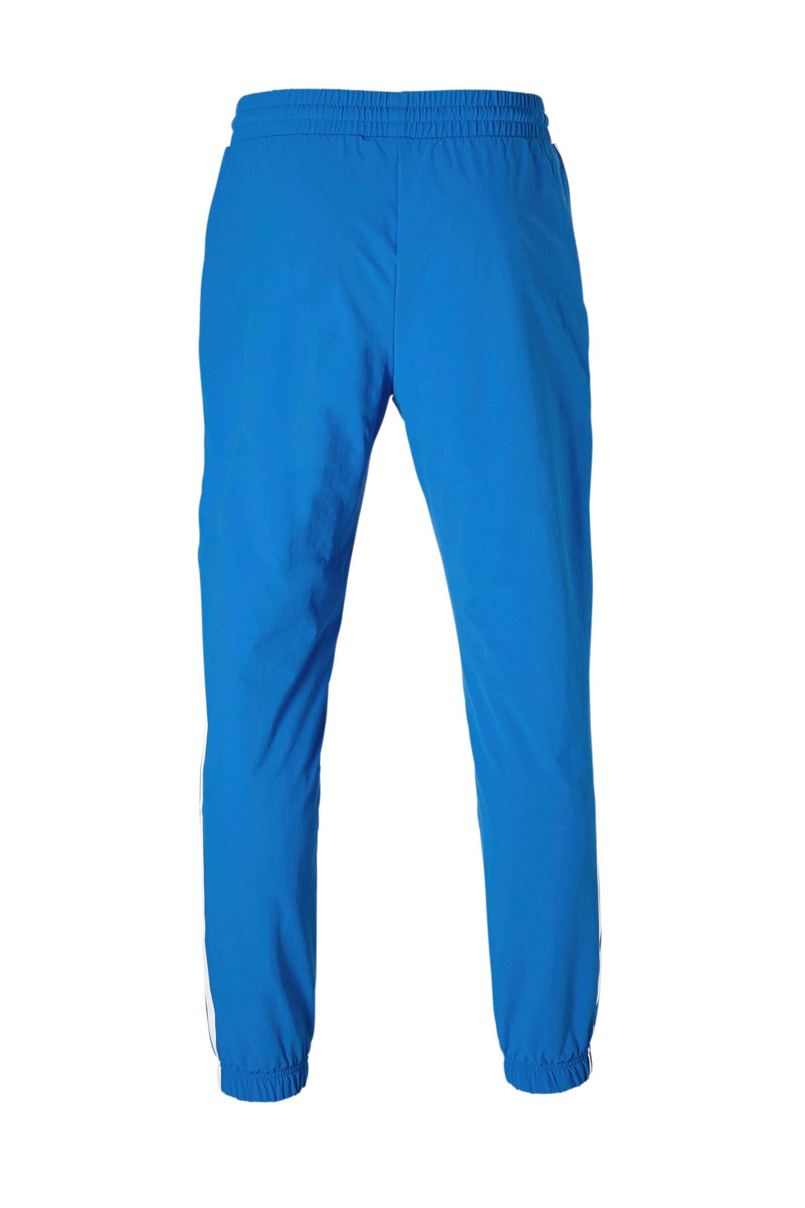 adidas Originals trainingsbroek blauw | wehkamp