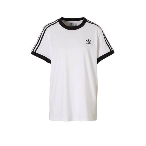T-shirt wit-zwart