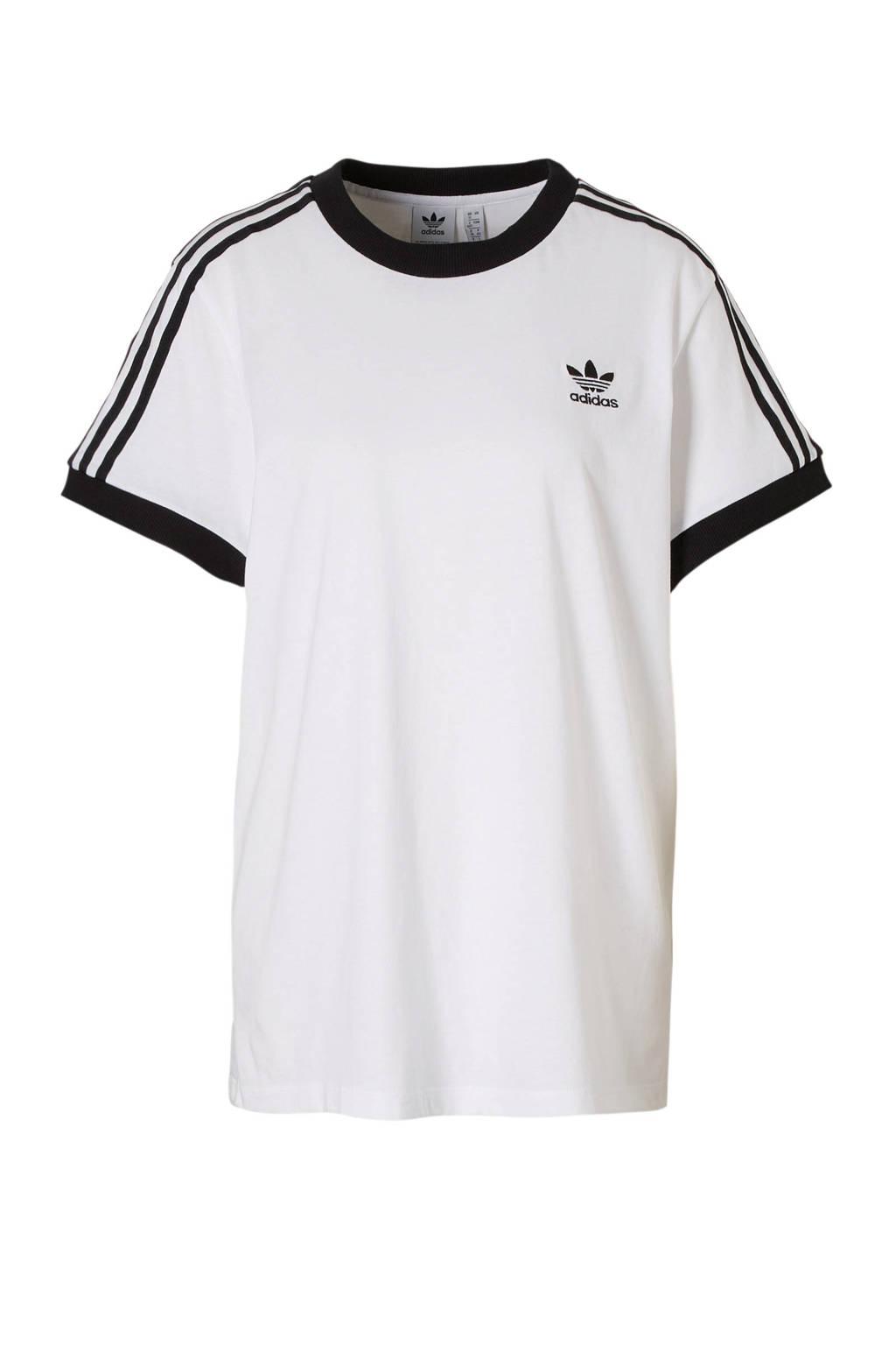adidas originals T-shirt wit/zwart, Wit/zwart