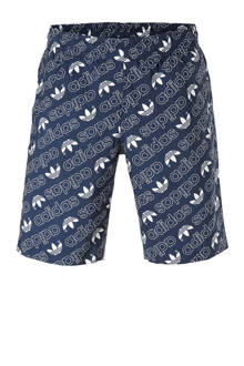 originals zwemshort met all-over print marine