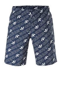 adidas originals zwemshort met all-over print marine (heren)