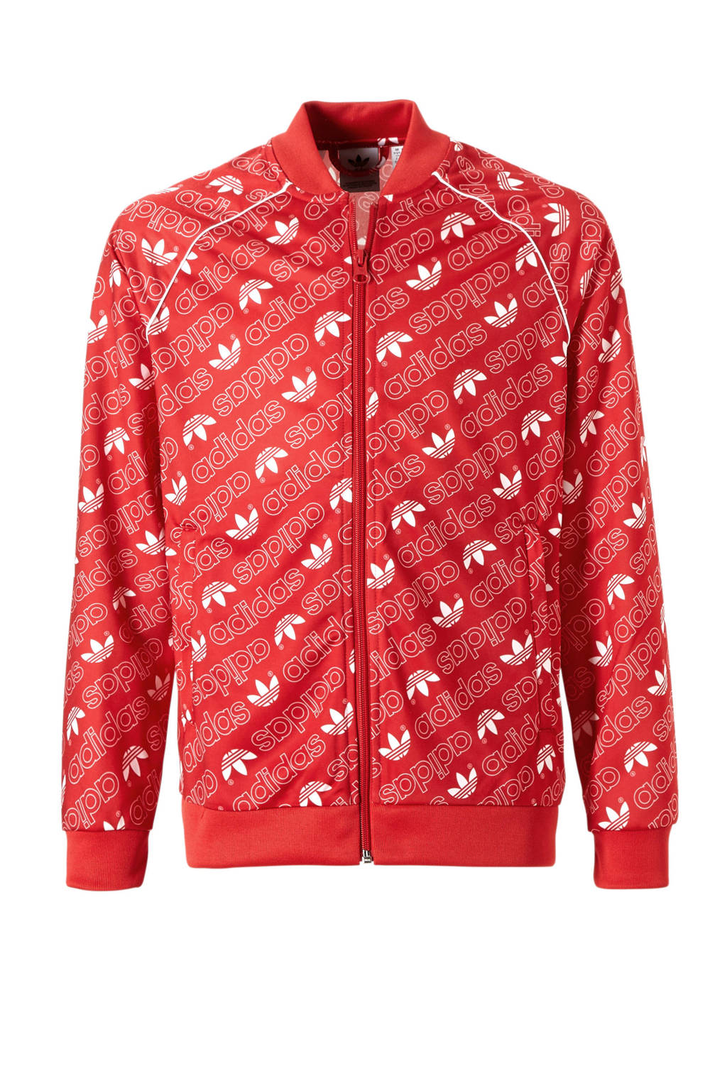 adidas originals   vest, Rood/wit