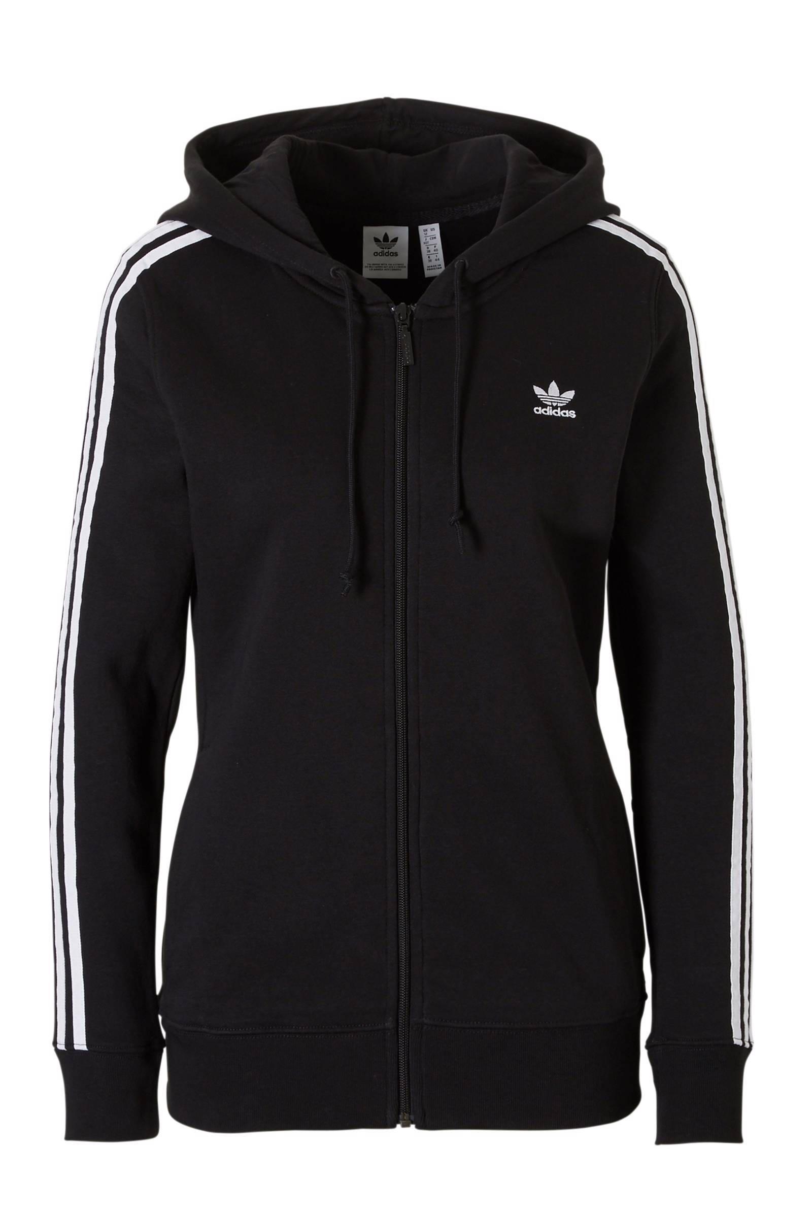 Adidas 3Str Zip Hoodie W - Jassenshoponline.nl