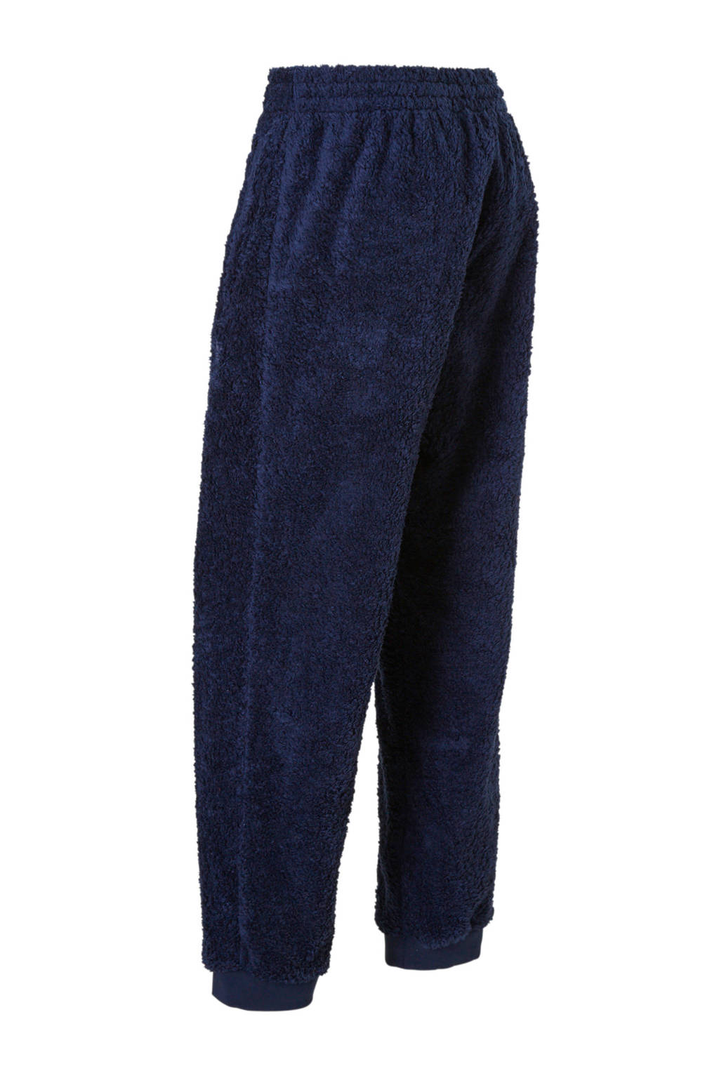 Donkerblauw Joggingbroek Adidasoriginals Van Adidasoriginals Joggingbroek Teddy EqPXwdC