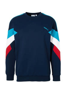 originals   sweater donkerblauw