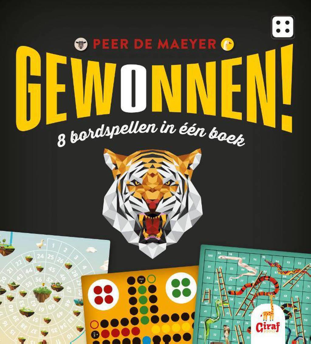 Gewonnen! 8 Bordspellen in één boek - Peer De Maeyer
