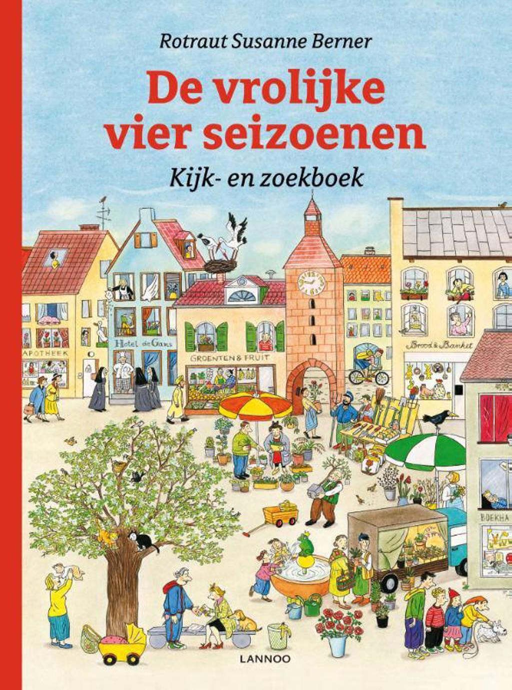 De vrolijke vier seizoenen - Rotraut Susanne Berner