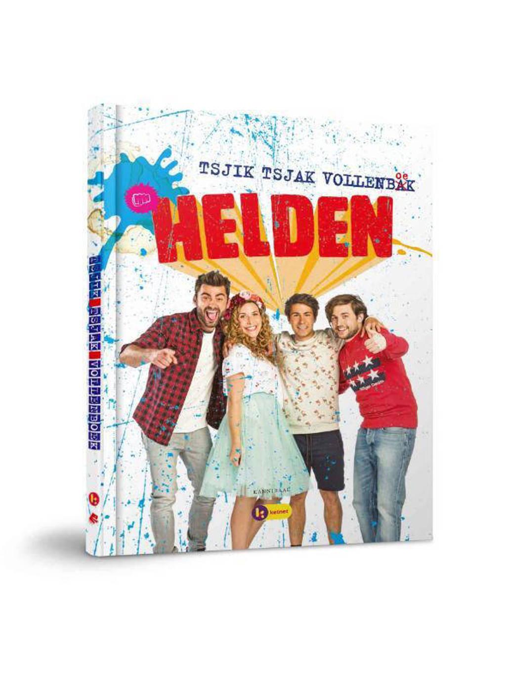 """Het Helden doeboek """"tsjik tsjak vollenbak"""" - Maureen Vanherberghen, Siegfried De Doncker, Dempsey Hendrinckx, e.a."""