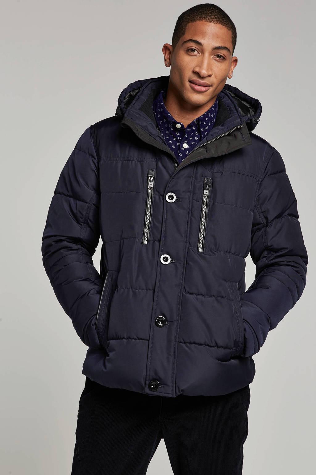 Tom Tailor jas, Donkerblauw