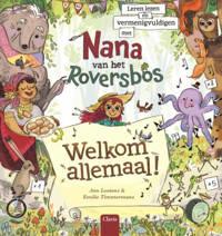Leren lezen en vermenigvuldigen met Nana van het Roversbos. - Ann Lootens