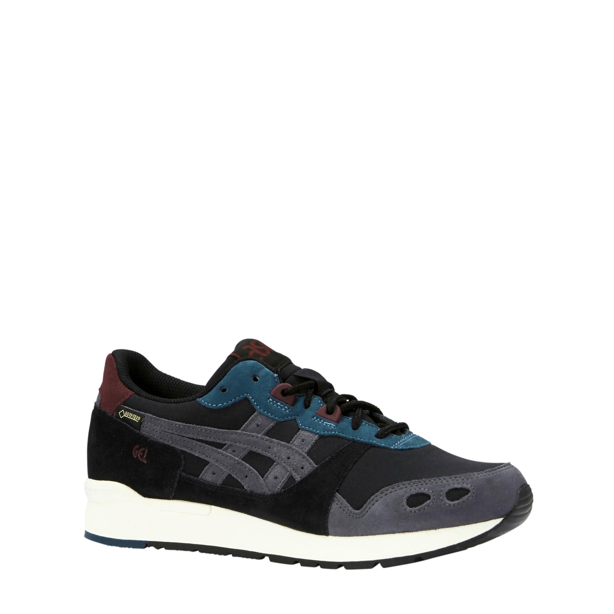 ASICS Gel-Lyte Gore-Tex suède sneakers zwart/grijs (heren)