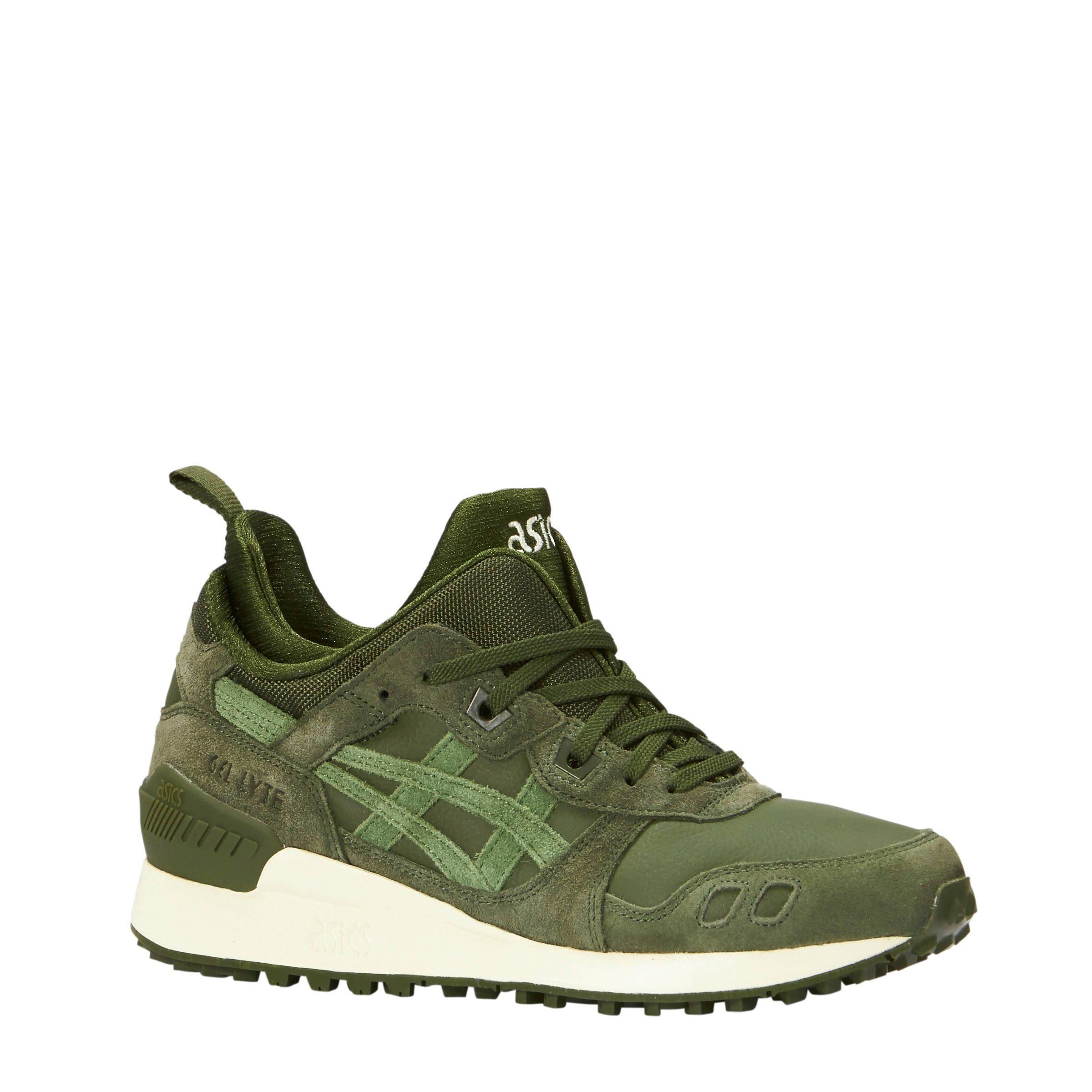 asics sneakers dames groen