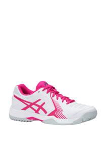 ASICS Gel-Game 6 tennisschoenen wit/roze (dames)