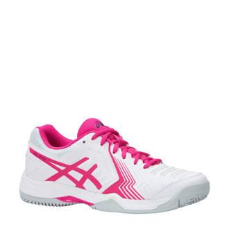Gel-Game 6 tennisschoenen wit/roze