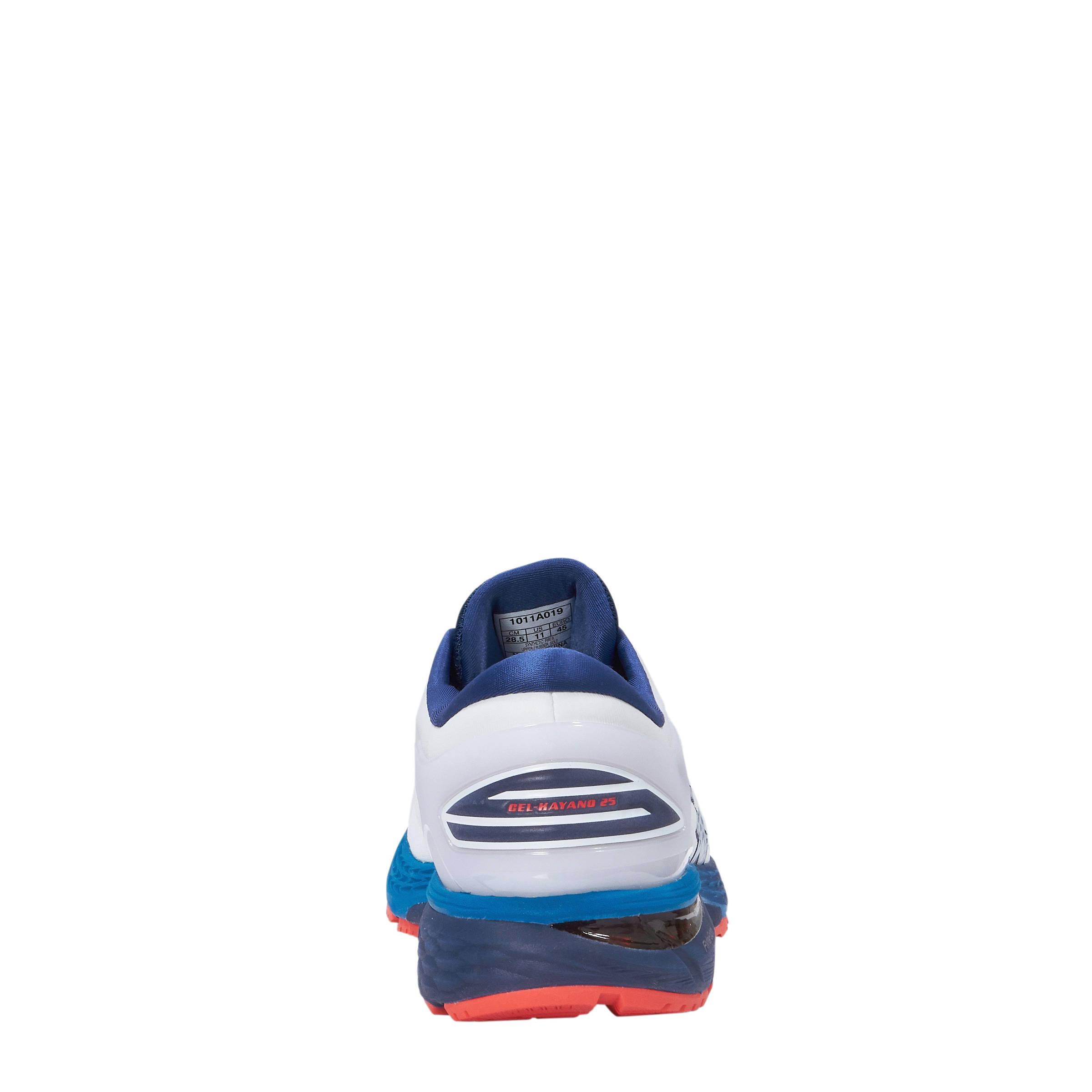 GEL KAYANO 25 hardloopschoenen witblauw