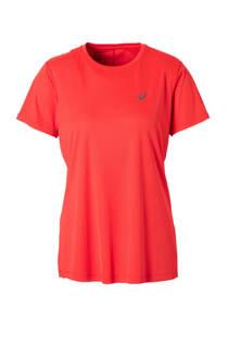 ASICS hardloop T-shirt rood (dames)