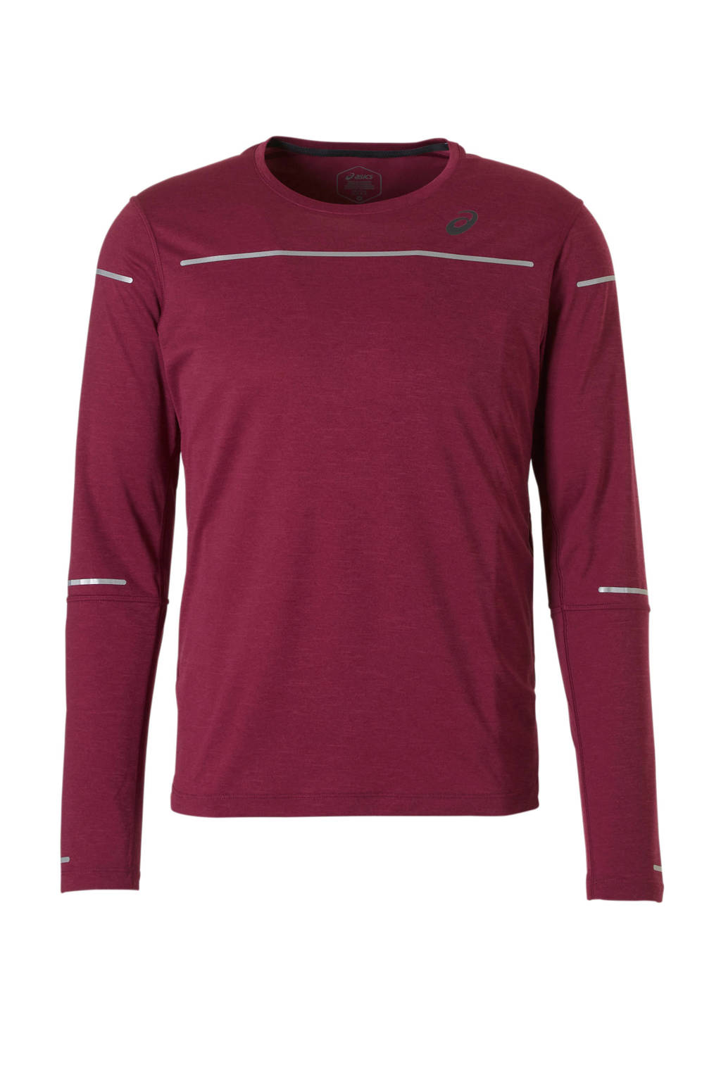 ASICS   hardloop T-shirt rood, Rood