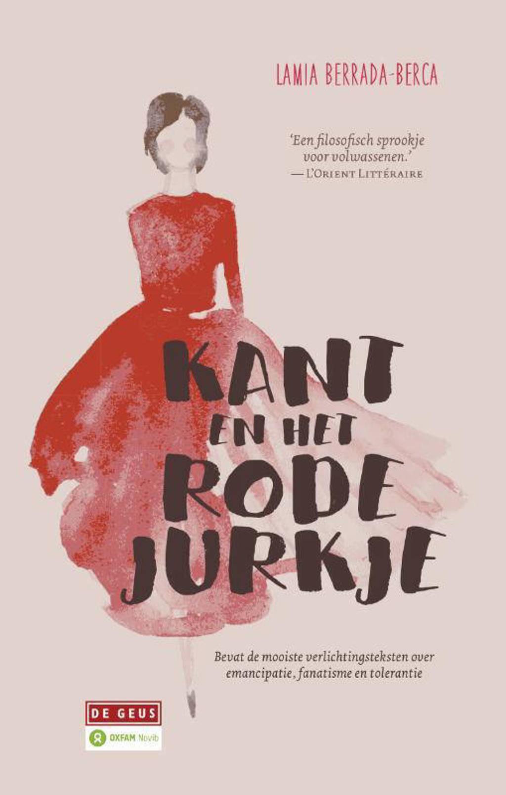 Kant en het rode jurkje - Lamia Berrada-Berca