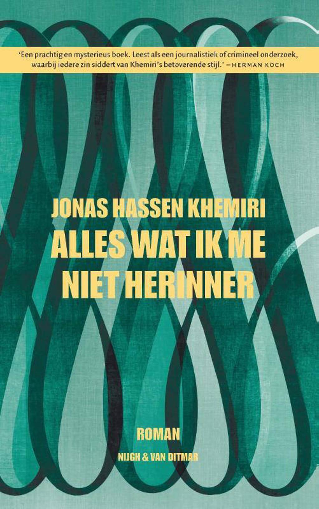 Alles wat ik me niet herinner - Jonas Hassen Khemiri