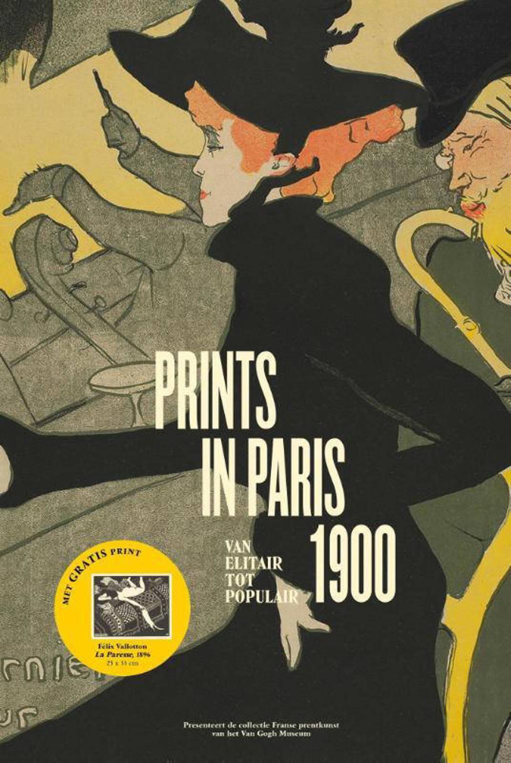 Prints in Paris 1900 - Fleur Roos Rosa de Carvalho