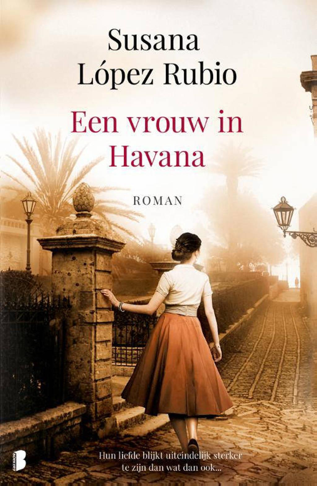 Een vrouw in Havana - Susana López Rubio