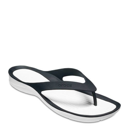 Crocs Instappers Black-White Swiftwater s
