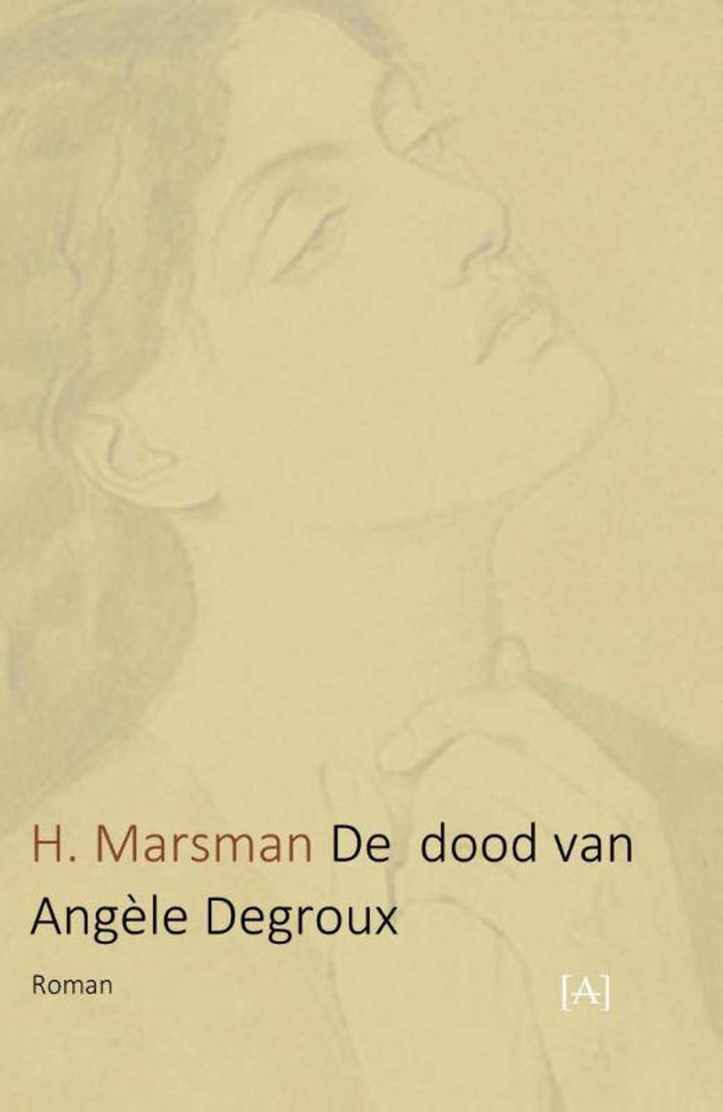 De dood van Angèle Degroux - H Marsman