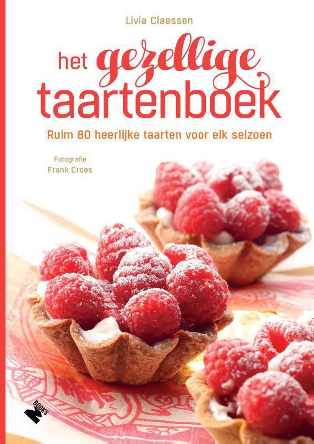 Het gezellige taartenboek - Livia Claessen