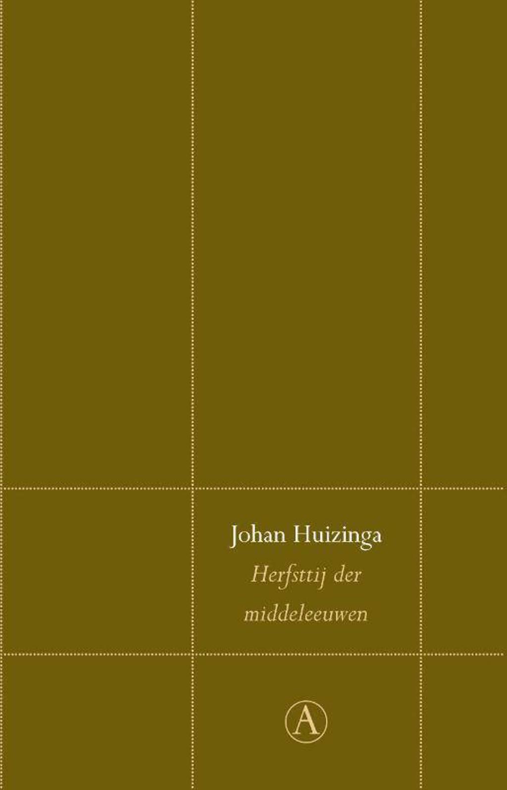 Perpetuareeks: Herfsttij der middeleeuwen - Johan Huizinga