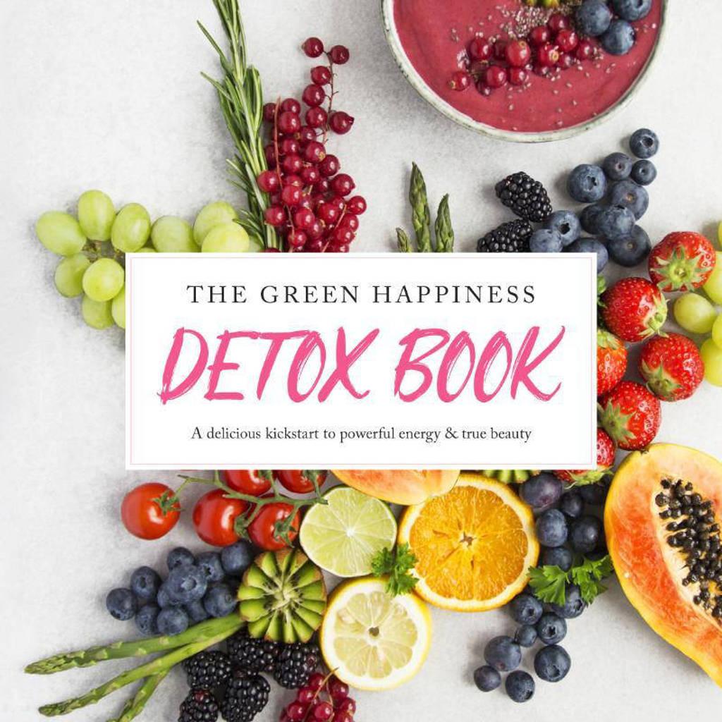 The green happiness detox book - Tessa Moorman en Merel Von Carlsburg