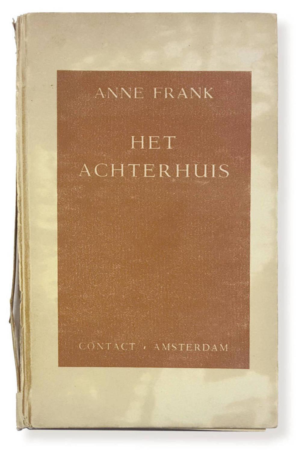 Het achterhuis (facsimile) - Anne Frank