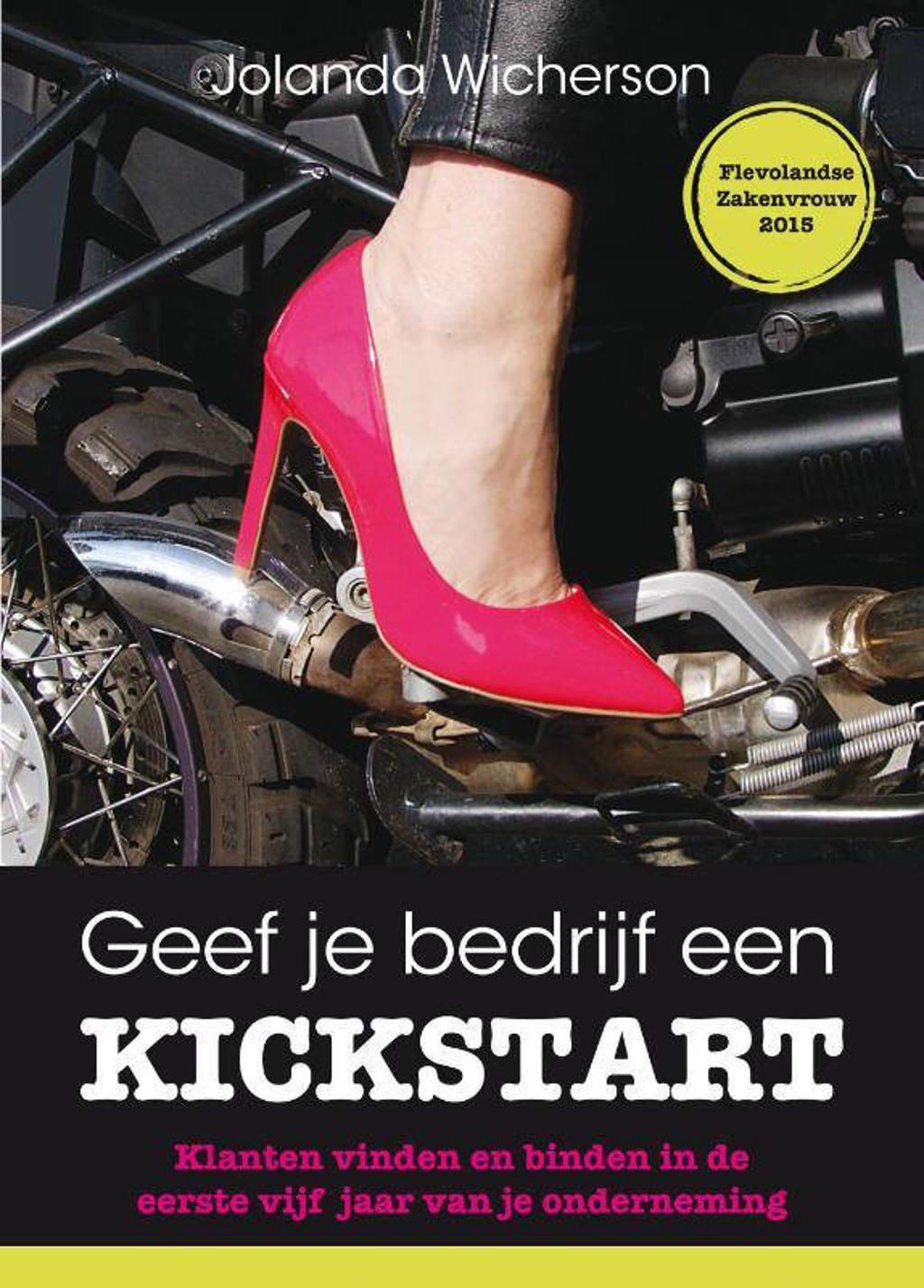 Geef je bedrijf een kickstart - Jolanda Wicherson