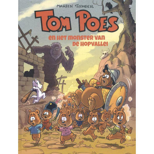 Tom Poes avonturen: Tom Poes en het monster van de Hopvallei - Marten Toonder kopen