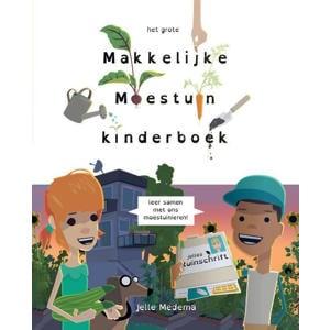 Het grote makkelijke moestuin kinderboek - Jelle Medema en Saskia Naber