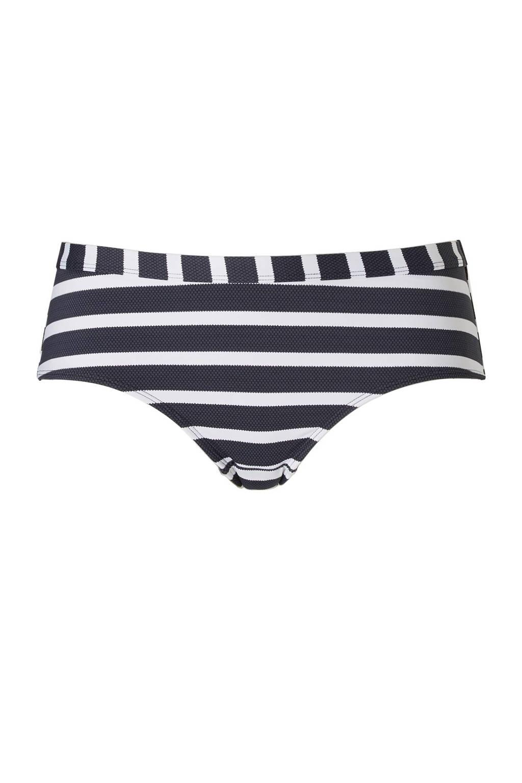 ESPRIT Women Beach Mix & Match hipster bikinibroekje, Grijs / ecru / zwart