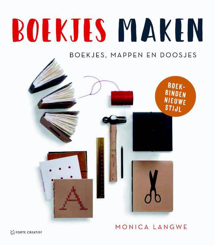 Boekjes maken - Monica Langwe