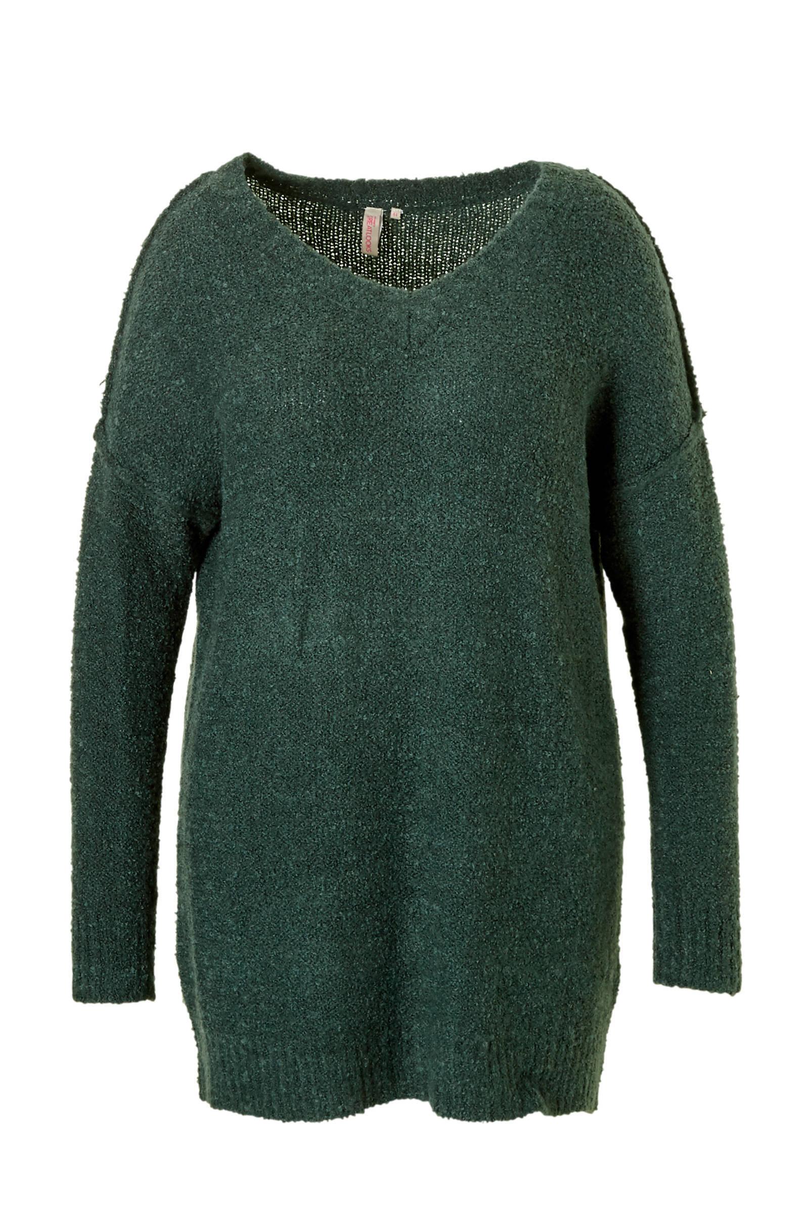 whkmp's great looks trui met V-hals (dames)