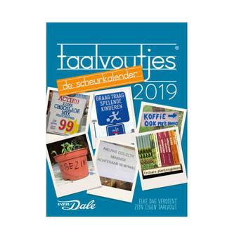 Taalvoutjes scheurkalender 2019