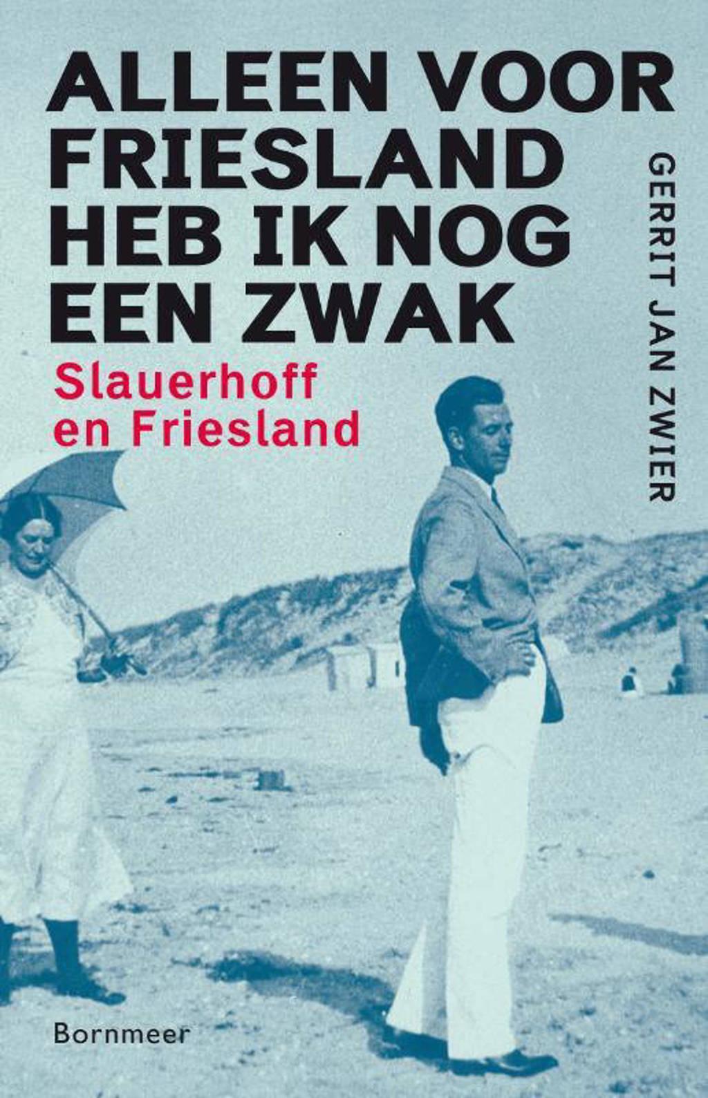 Alleen voor Friesland heb ik nog een zwak - Gerrit Jan Zwier