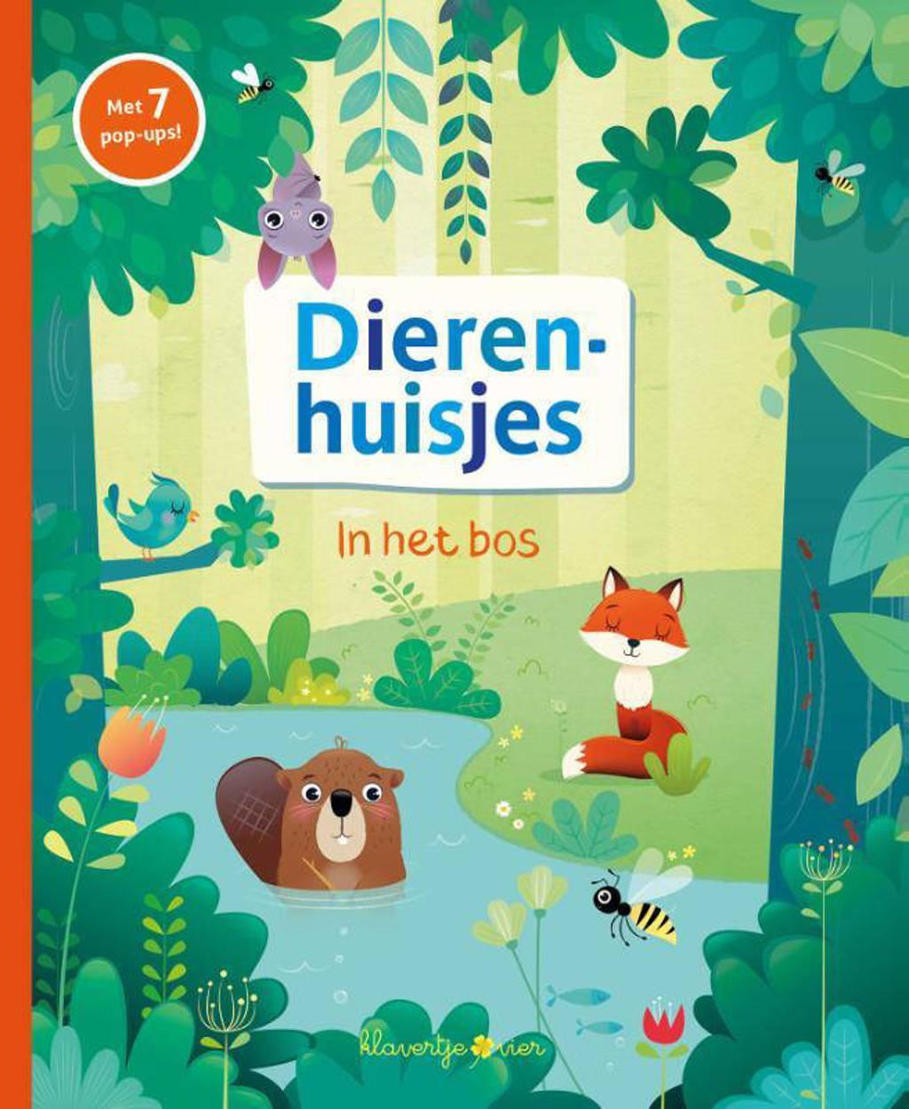 Pop-up boek Dierenhuisjes: In het bos - Pavla Hanáckaová
