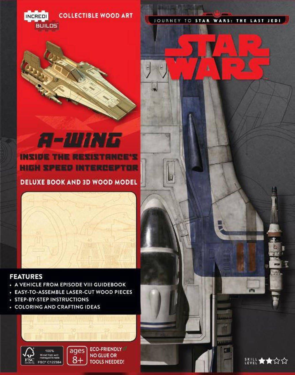A-wing Deluxe Boek met houtmodel - Star Wars