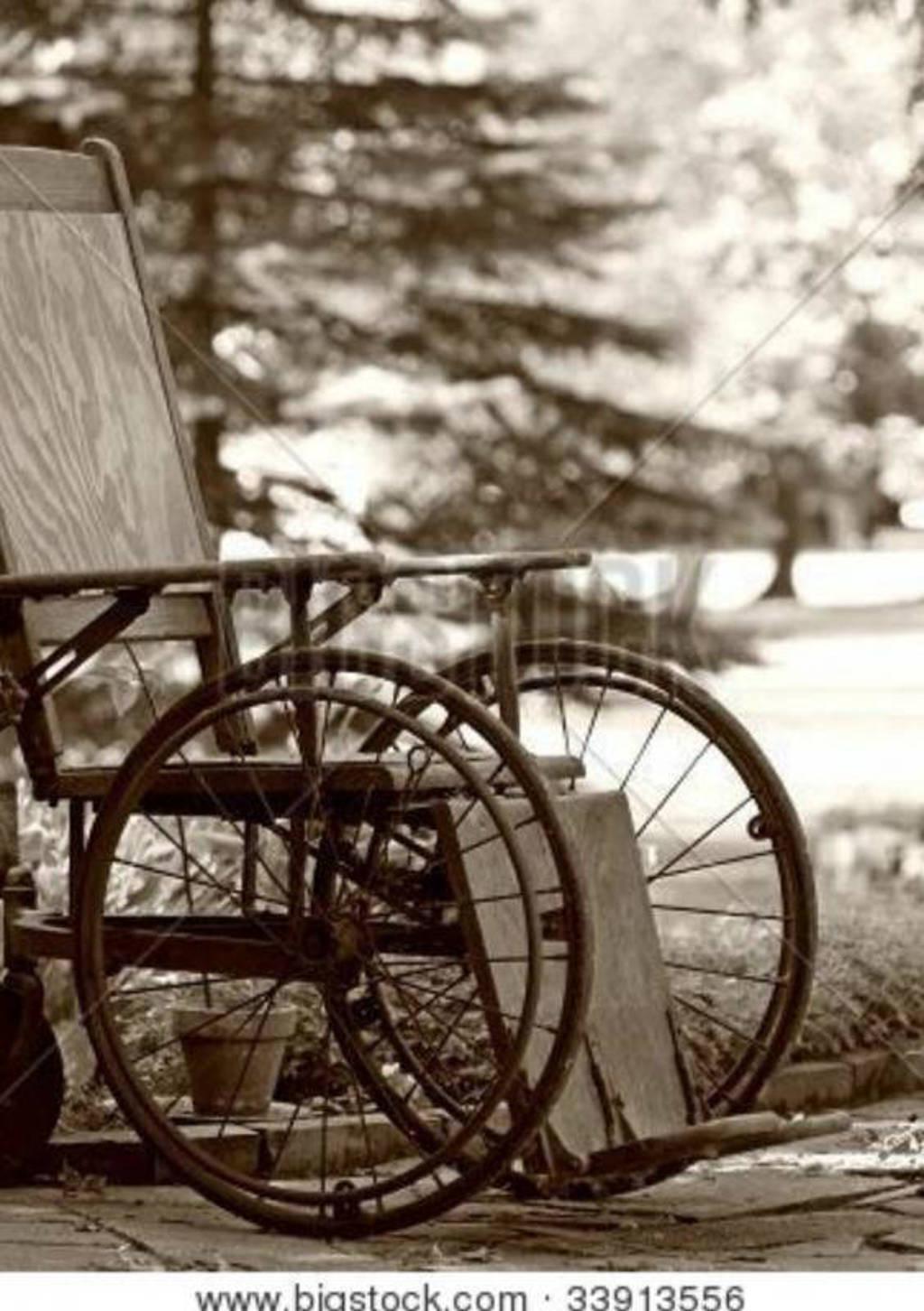 mensen schamen zich als iemand in een rolstoel zit - Ans van Kuijck Linders