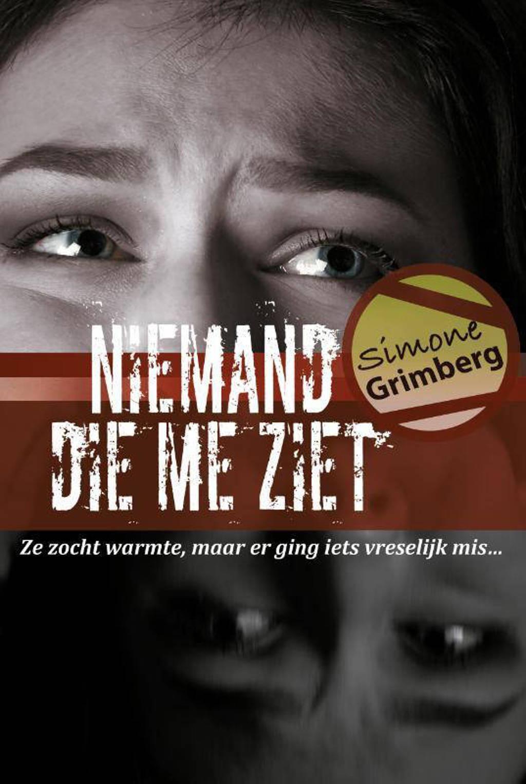 Niemand die me ziet - Simone Grimberg