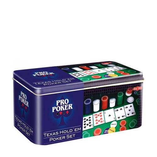 Tactic Pro poker Texas Hold em set dobbelspel kopen