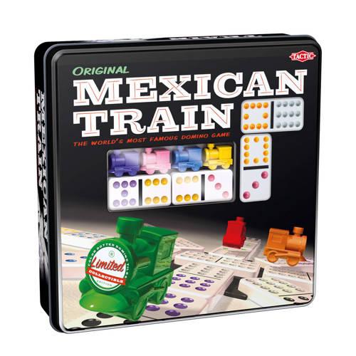 Tactic Mexican Train tin box