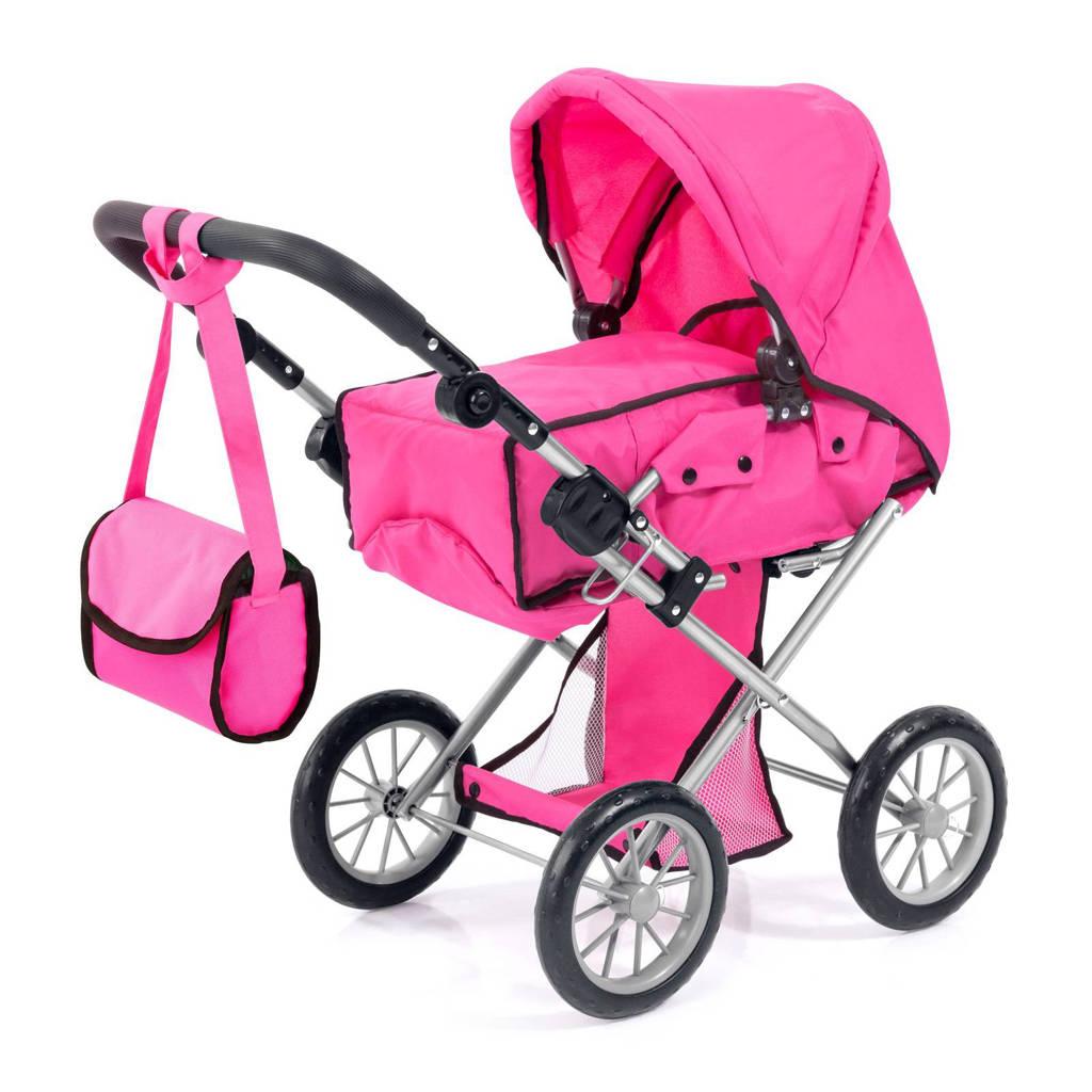 Bayer poppenwagen city star roze