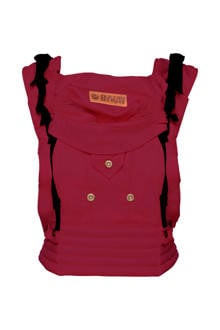4 Way Click Carrier draagzak berry red