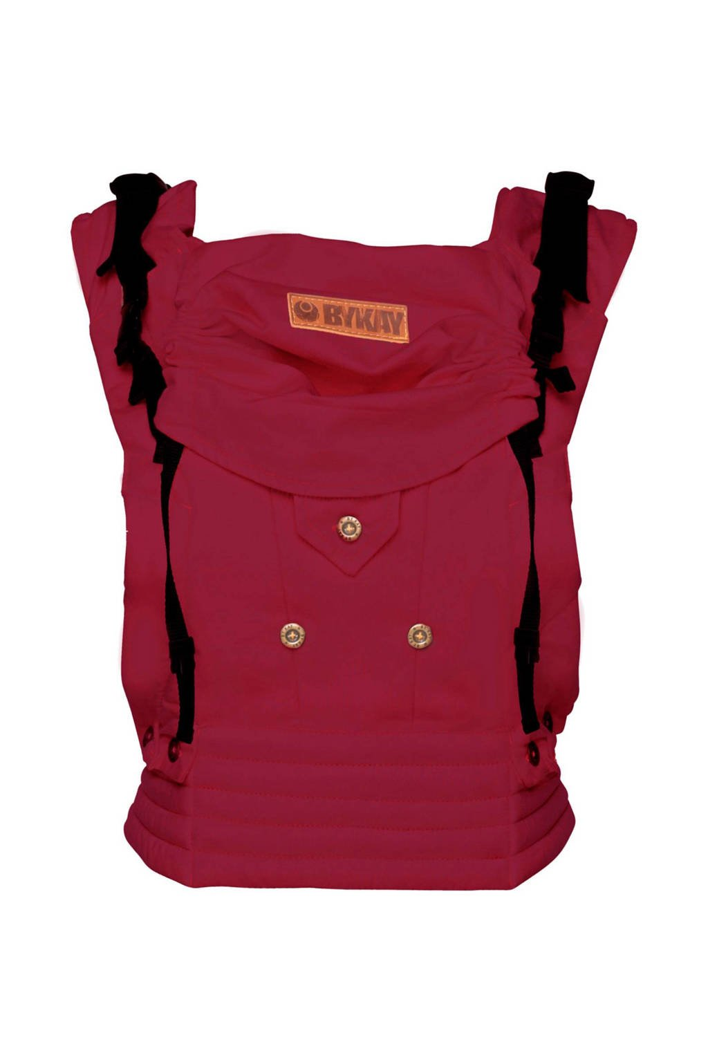 ByKay draagzak 4 Way Click Carrier 50310 rood, Berry Red