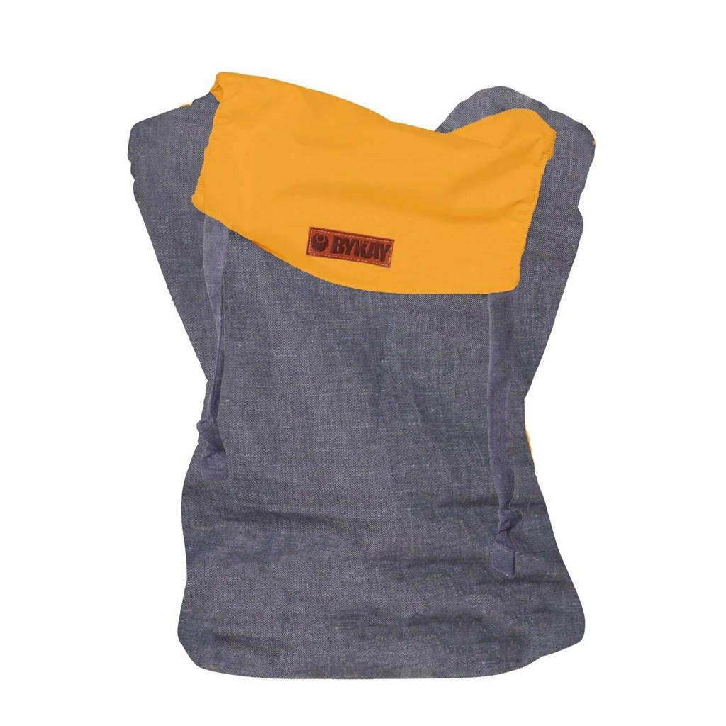 ByKay draagzak Click Carrier Reversible 50403 grijs/geel, Dark jeans/autumn yellow