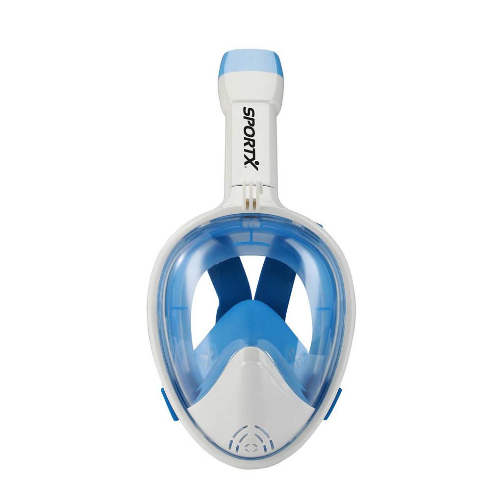 SportX full face duikset XS, Blauw